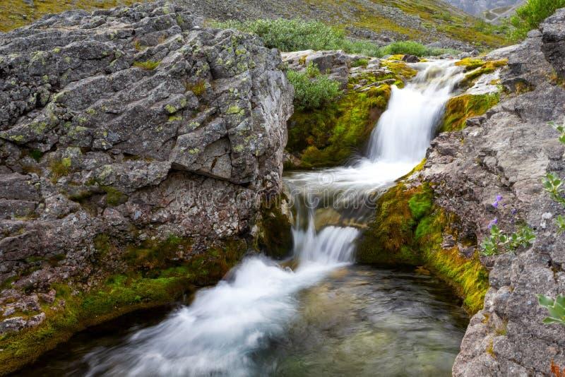 La rivière de Poachvumyok photo libre de droits