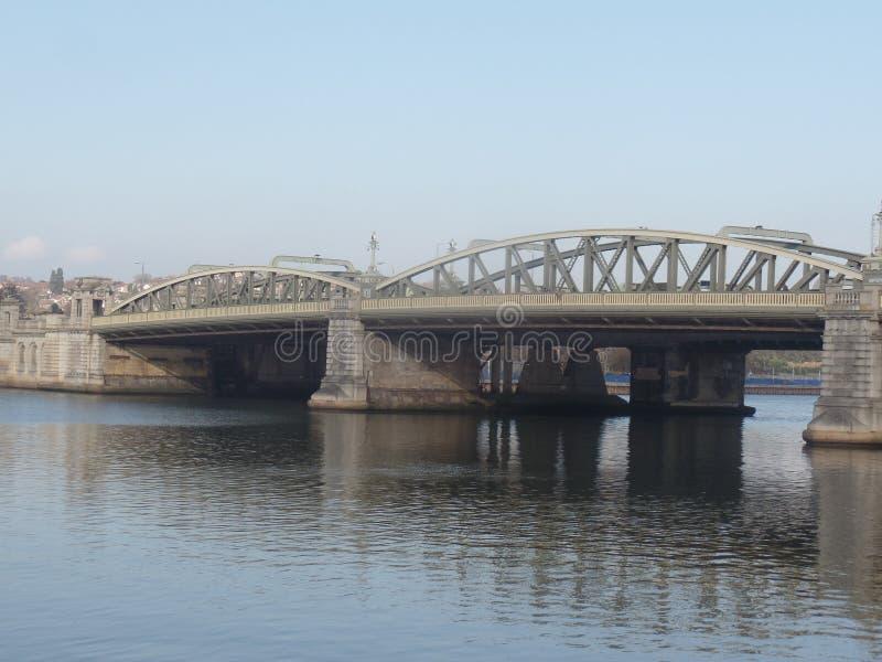 La rivière Medway, Rochester, Kent, Royaume-Uni image libre de droits
