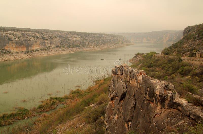 La rivière Pecos photos stock