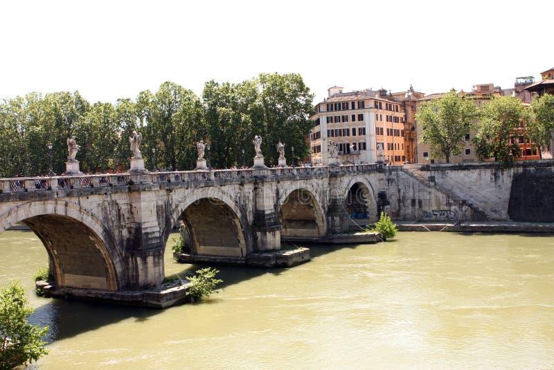 La rivière Rome Italie du Tibre photos libres de droits