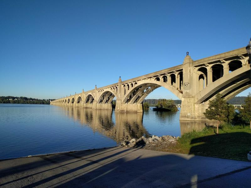 La rivière Susquehanna image libre de droits