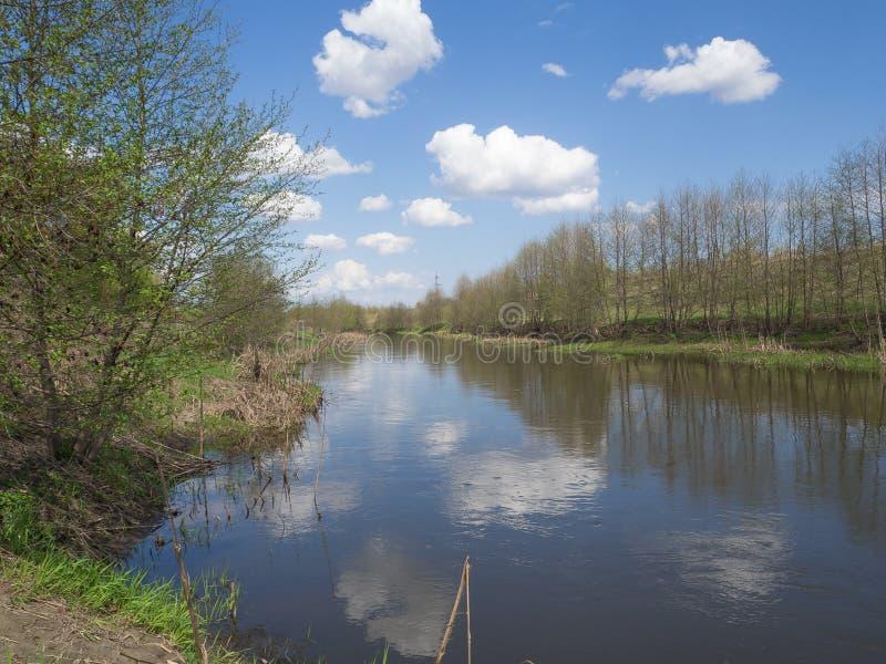 La rivière tranquille photographie stock libre de droits