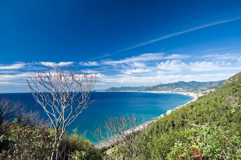 La Riviera italienne image stock