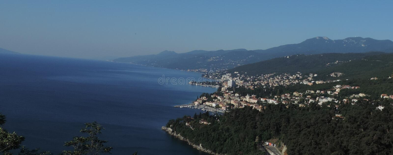 La Riviera Opatija image libre de droits