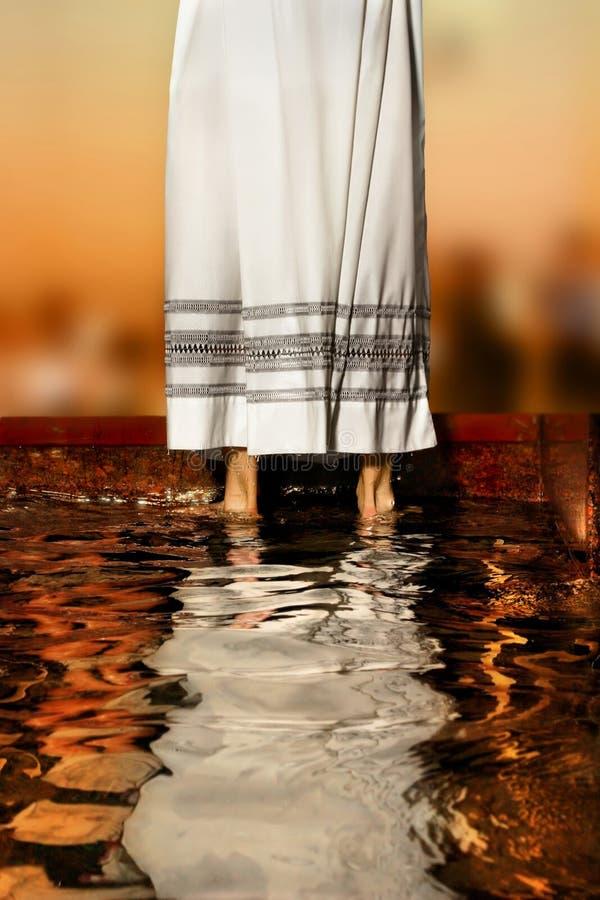 La robe longue du prêtre photo libre de droits