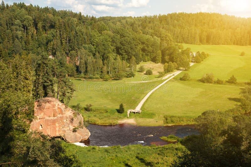 La roca de Zvartes foto de archivo libre de regalías