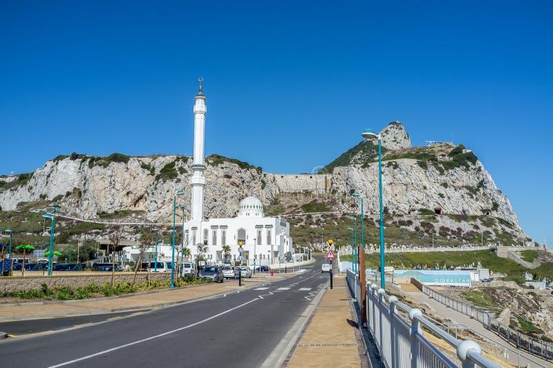 La roca del punto del europa foto de archivo