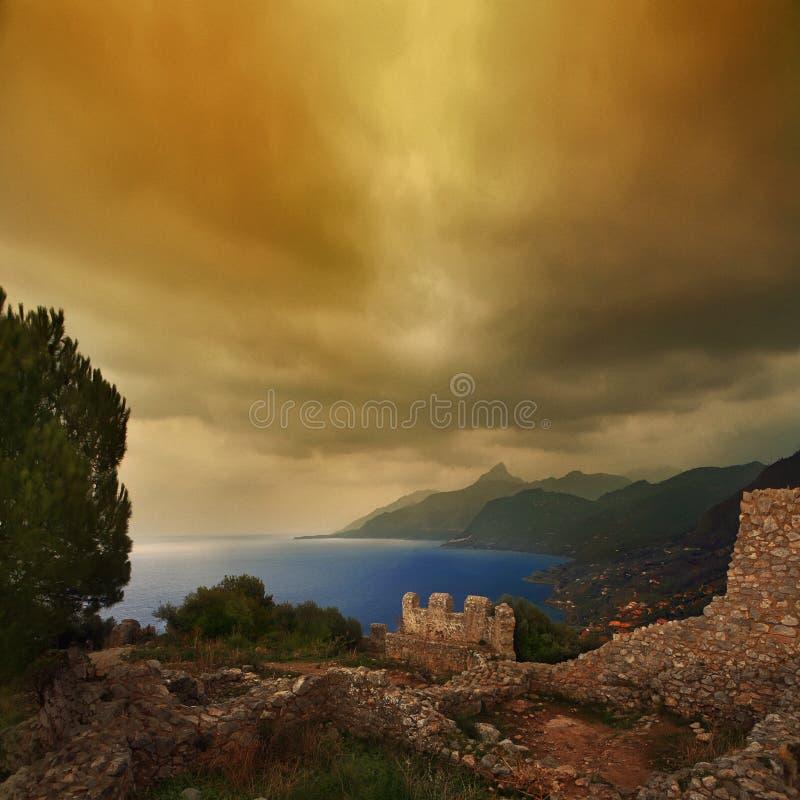 Free La Rocca Cefalu Stock Image - 7774551