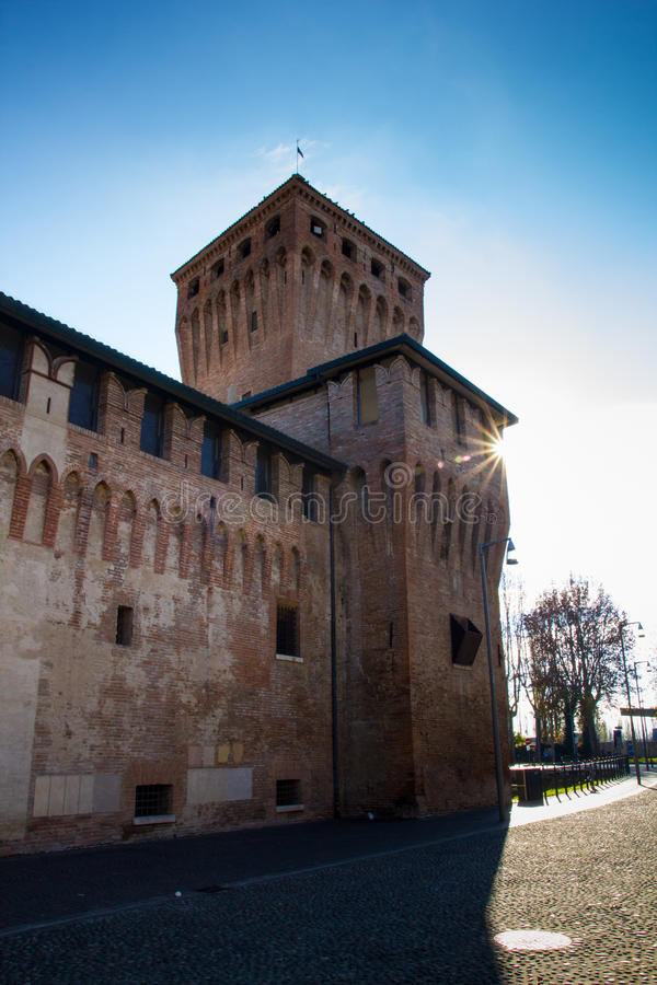 La Rocca di Cento Castle,Italy royalty free stock photography