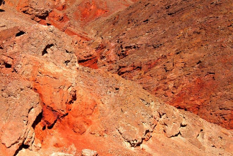 La roche d'or de canyon mure la Californie photo libre de droits
