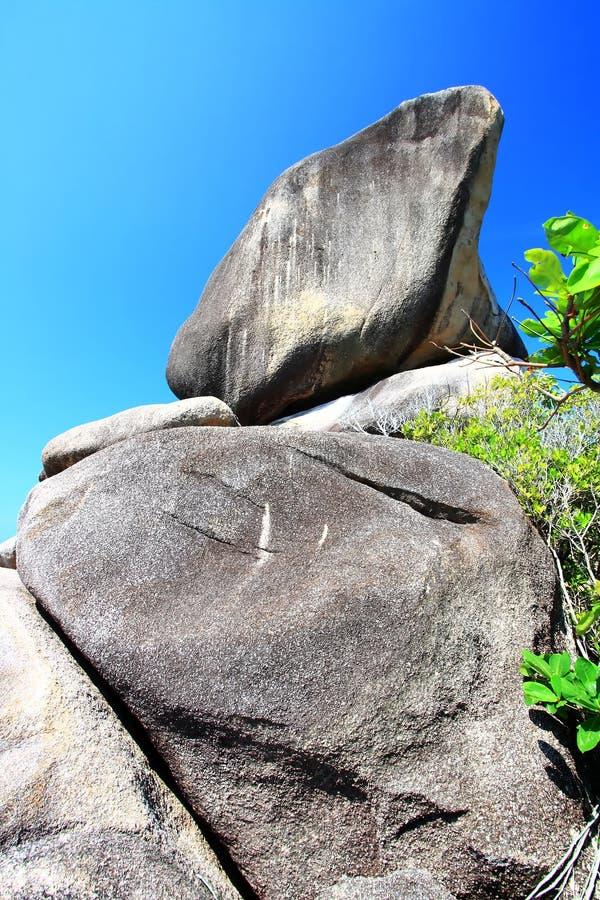 La roche de navigation images libres de droits