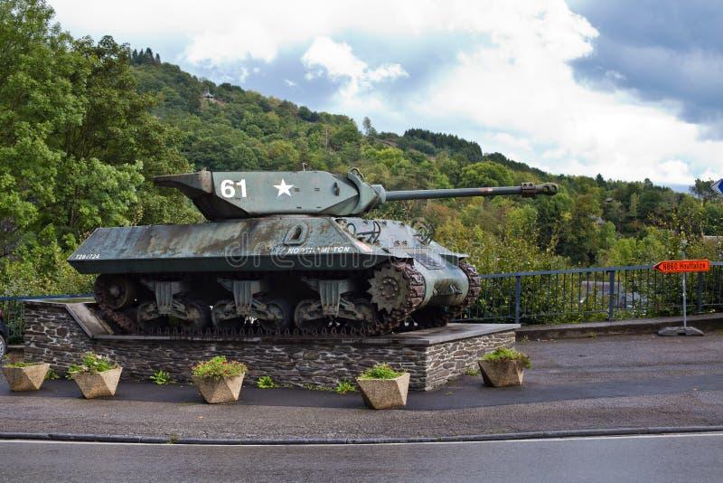 La Roche Engelse Ardennen - SEPTEMBER 20: Achilles Tank-torpedojager Mk10 royalty-vrije stock foto