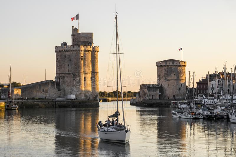 La Rochelle, франция стоковые фотографии rf