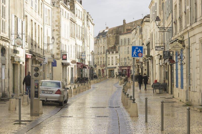 La Rochelle, alte Stadt auf der Westküste von Frankreich stockfotos