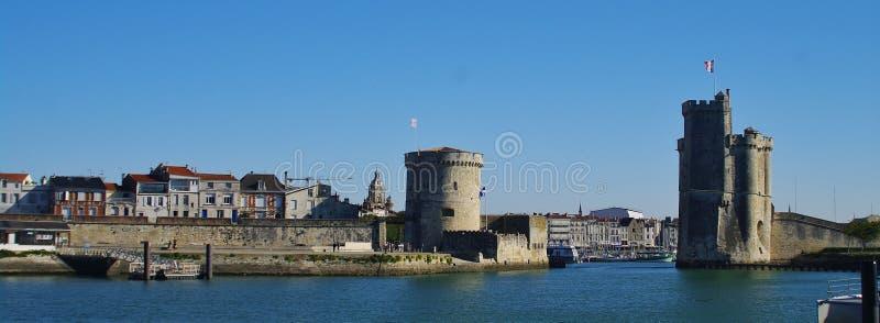 La Rochelle hamn fotografering för bildbyråer