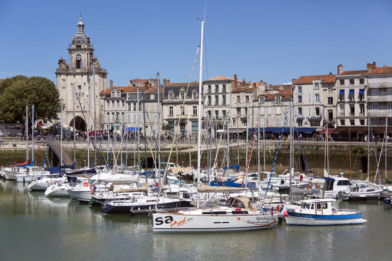 La Rochelle - Poitou-Charentes - Frances photo stock