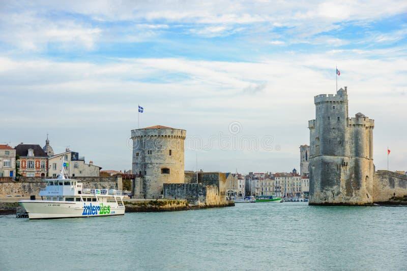 La Rochelle Port fotografia stock
