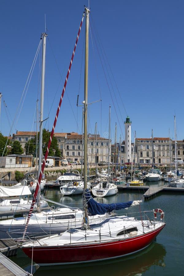 La Rochelle - région de Poitou-Charentes des Frances image stock