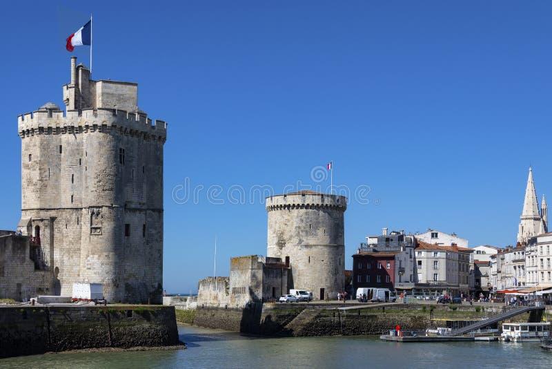 La Rochelle - région de Poitou-Charentes des Frances photo libre de droits