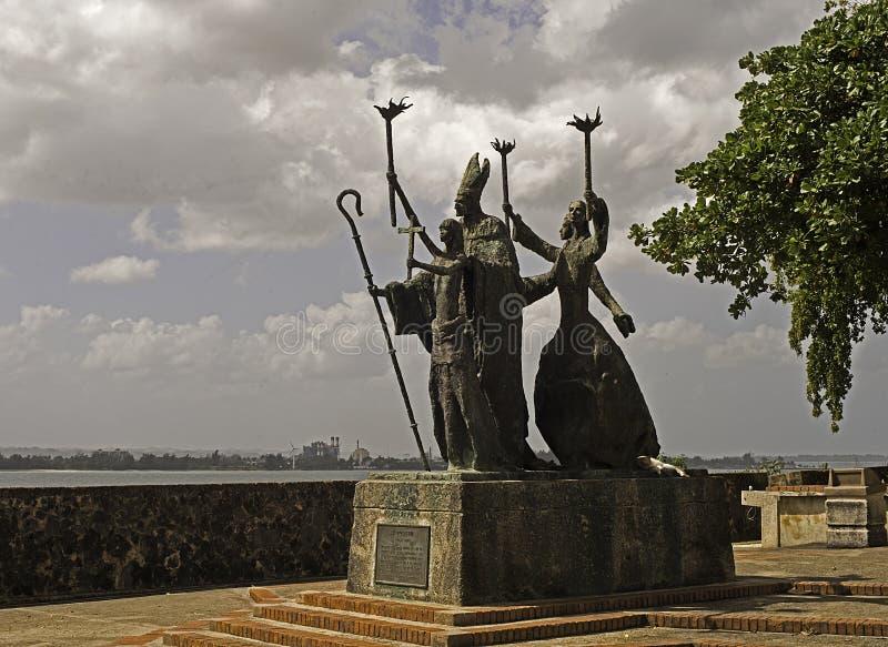 La Rogativa, fyrkanten av rogationen, Puerto Rico royaltyfri foto