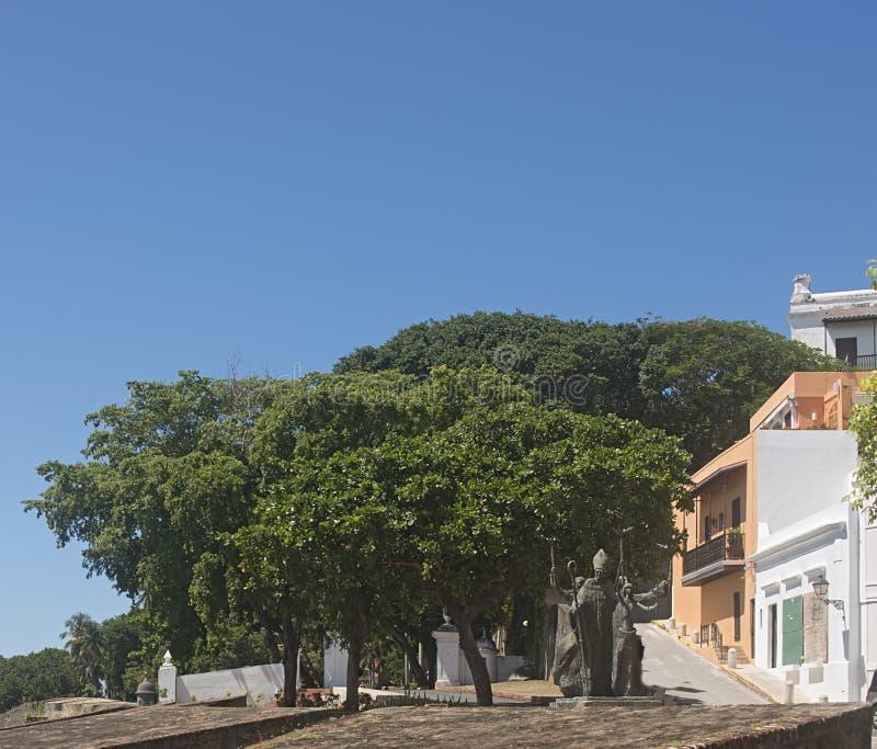 La Rogativa, gamla San Juan arkivbild