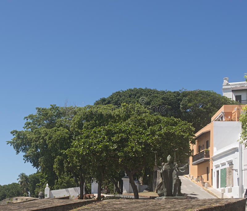 La Rogativa, San Juan viejo fotografía de archivo