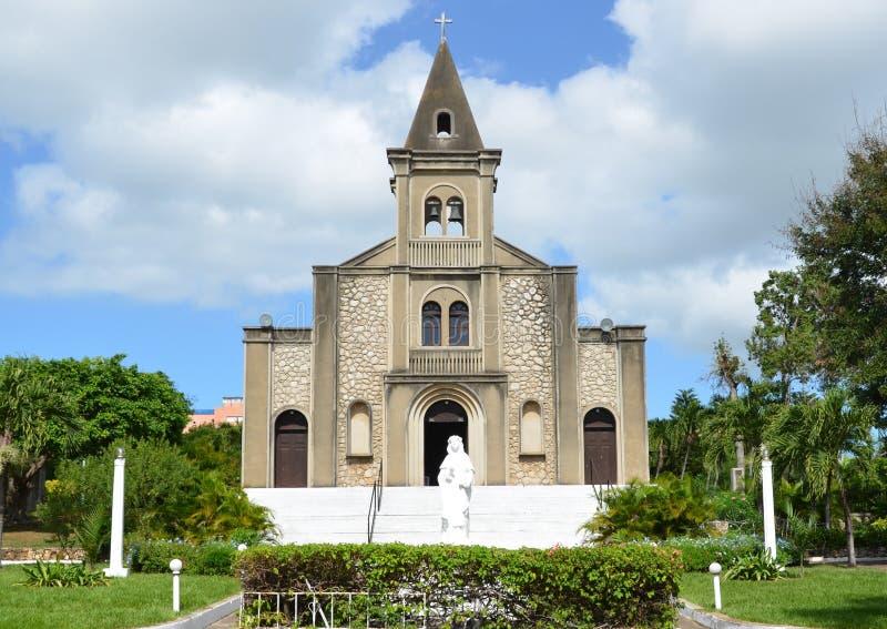 Download La Romana Cathedral stock photo. Image of saint, statue - 23528684