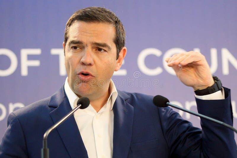 La Romania - la Grecia, riunione intergovernativa fotografie stock