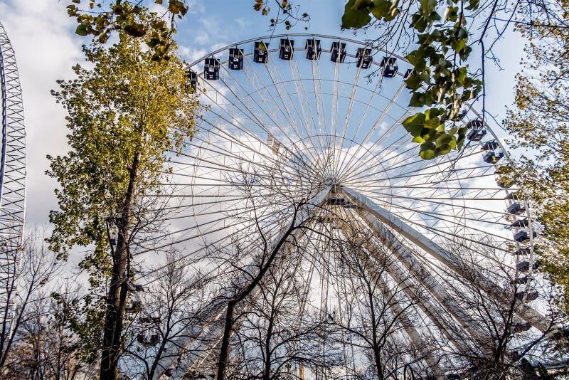 La Ronde Ferris whell stock afbeelding
