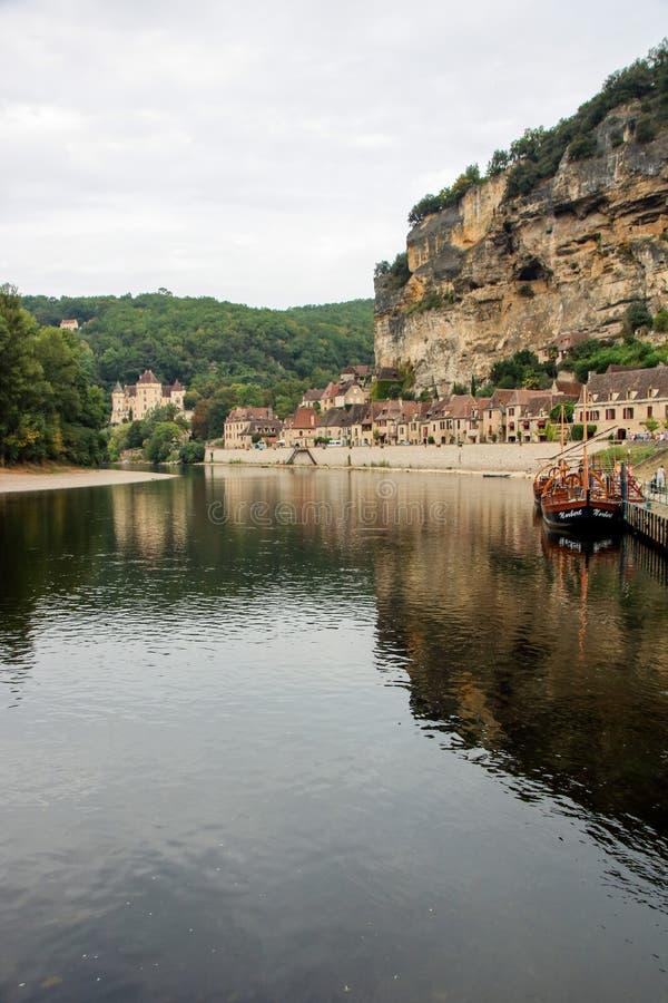 La Roque-Gageac 库存照片