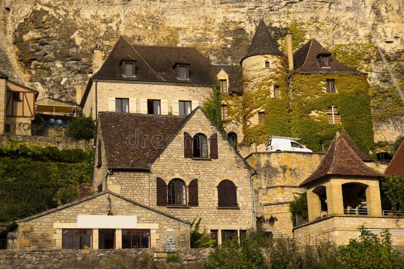 La Roque-Gageac Dordogne photos libres de droits
