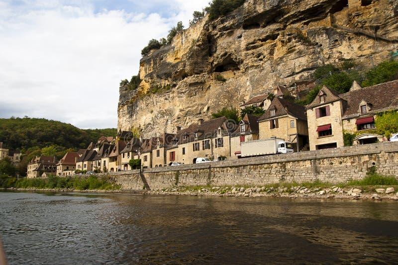 La Roque Gageac Dordogne France images stock