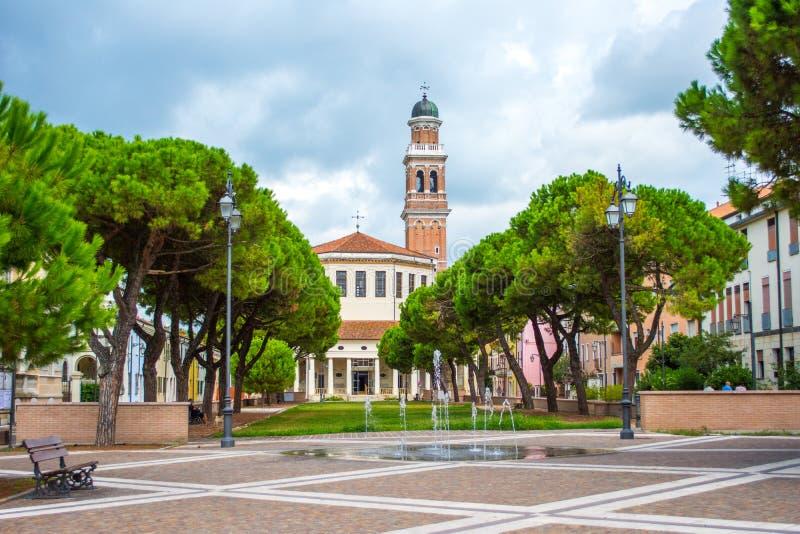 La Rotonda,罗维戈,威尼托,意大利 库存照片