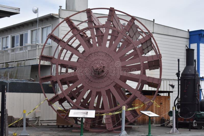 La roue à aubes historique de now du paquebot Petaluma, 2 photographie stock libre de droits