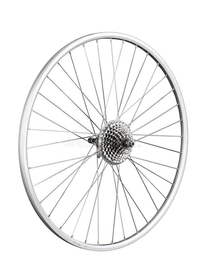 La roue de bicyclette photo stock