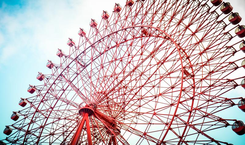 La roue de ferris de Hep Five photo stock
