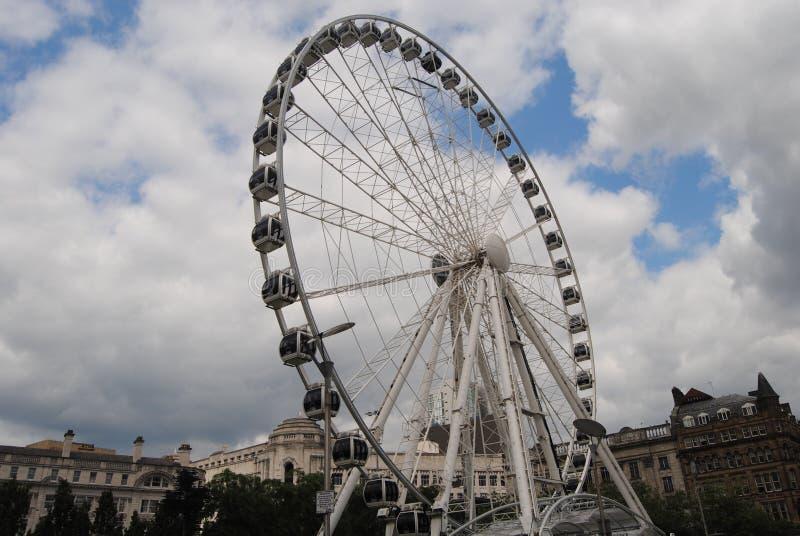 La roue de Manchester images stock