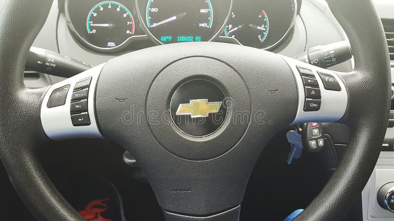La roue principale de la voiture image stock