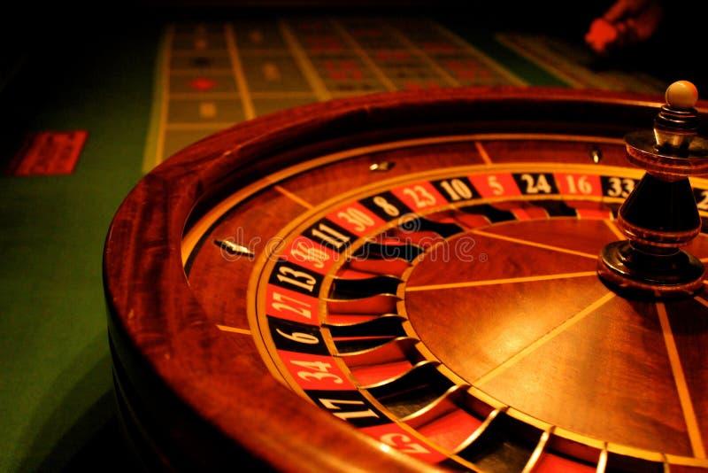 La roulette donne l'occasion image stock
