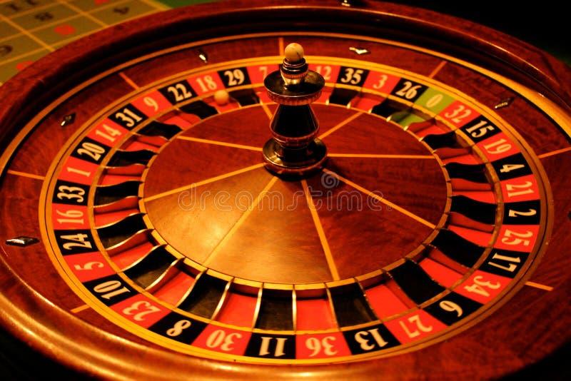 La roulette donne l'occasion 2 image libre de droits