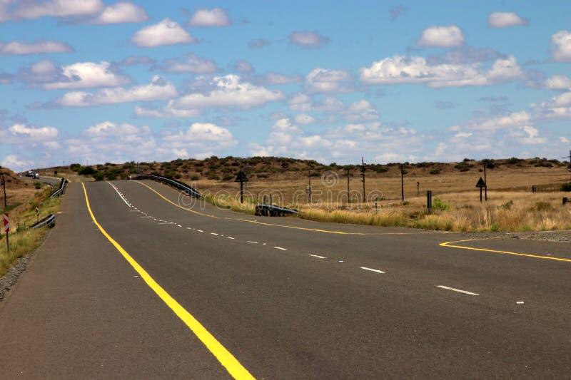 La route à nulle part. images libres de droits