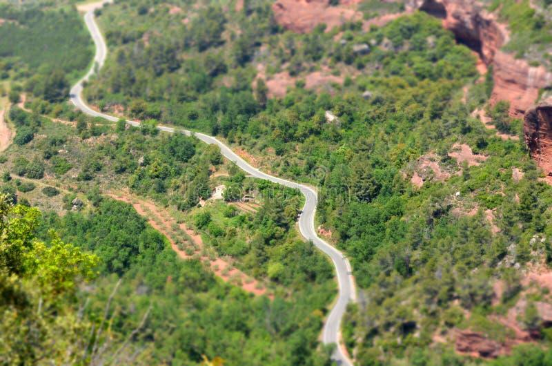 La route image stock
