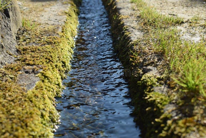La route de l'eau photos libres de droits