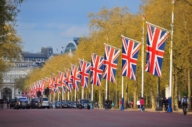 La route de mail, Londres images stock