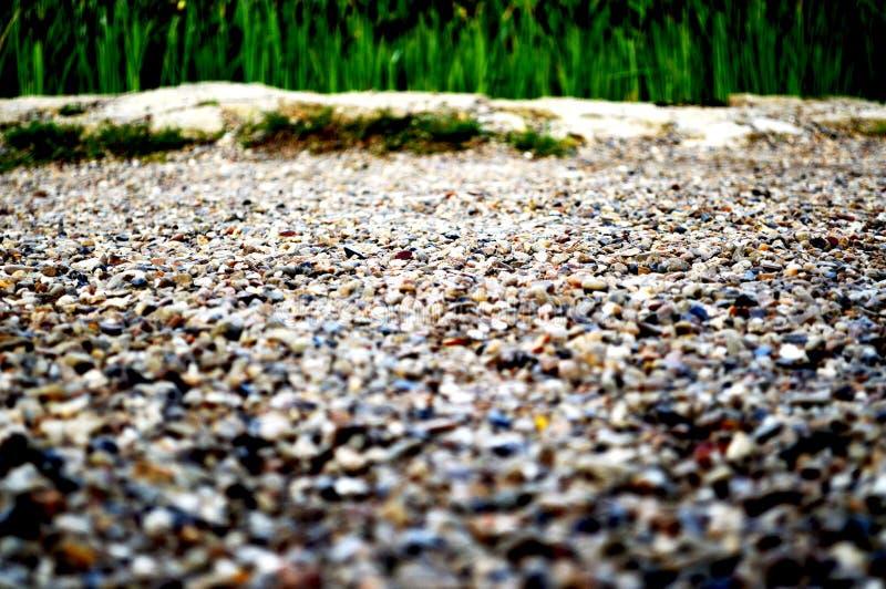 La route de petites pierres images libres de droits