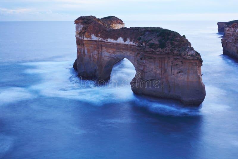 La route grande d'océan, Melbourne image libre de droits