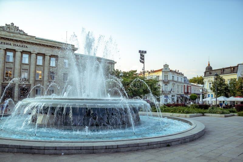 La rue à Ruse en Bulgarie photos libres de droits