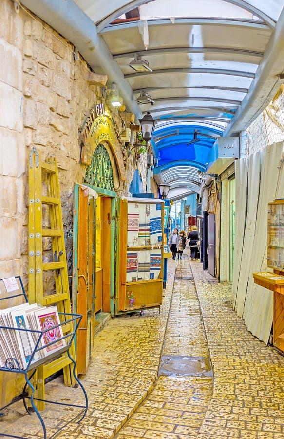 La rue de galerie images stock