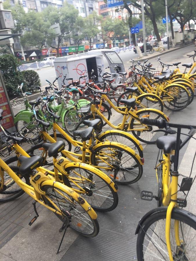 La rue est roi Nan-Tchang nouveau Year& x27 ; s Ève photographie stock libre de droits