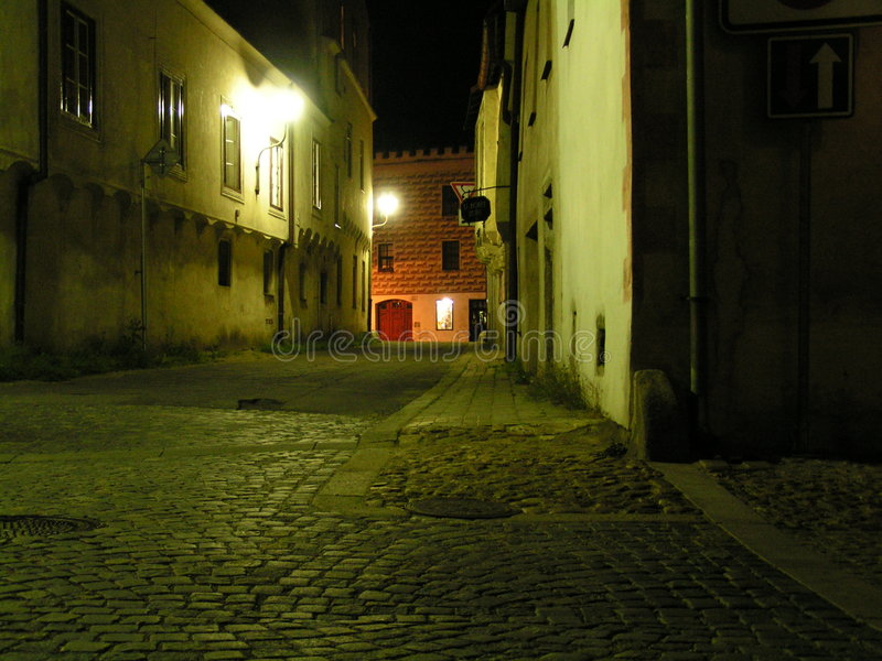 La rue vide image libre de droits